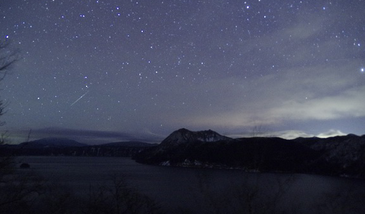 Soar through the Stars above Lake Mashu