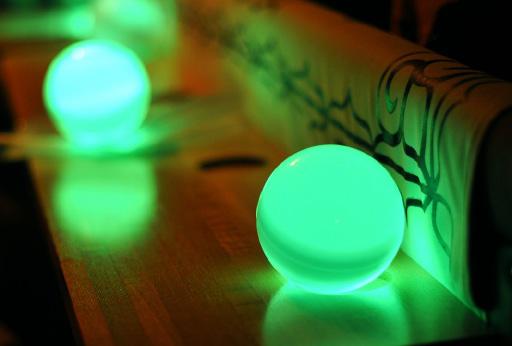 阿寒湖綠球藻夏希燈