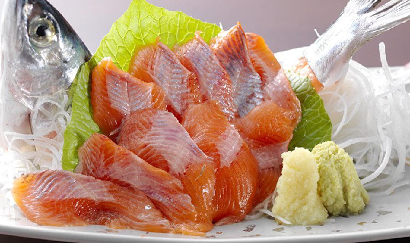 Himemasu dish