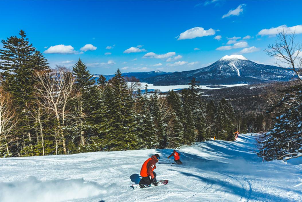 国设阿寒湖畔滑雪场