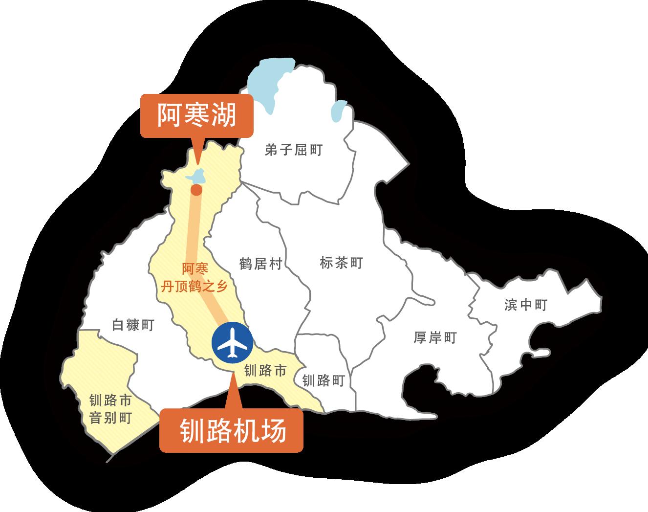 阿寒湖和东北海道