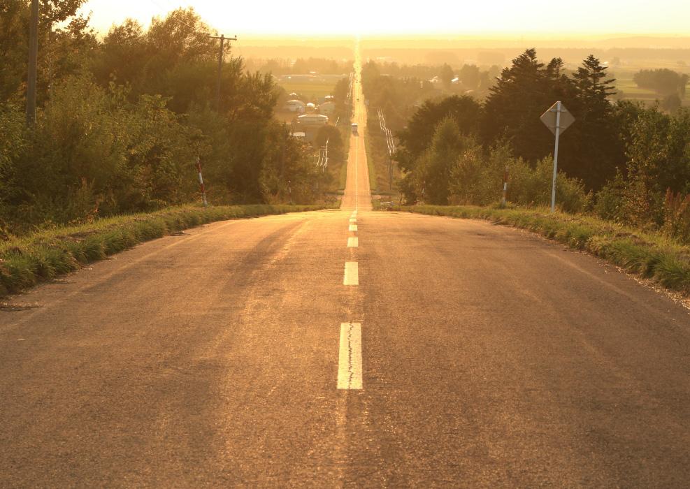 天まで続く道