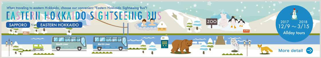 EASTERN HOKKAIDO SIGHTSEEING BUS Winter ver.