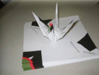 オリジナル折鶴