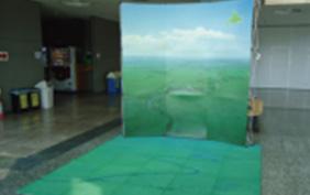 釧路湿原ジオラマ展示